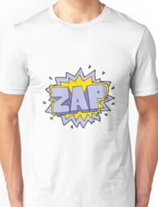 cartoon zap explosion sign Unisex T-Shirt