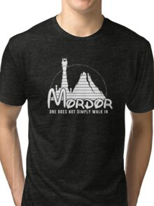 one does not simply walk in mordor Tri-blend T-Shirt
