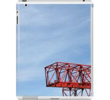 crane in the sky iPad Case/Skin