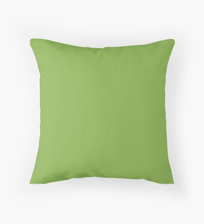 Greenery the Fashion color of the year for 2017 Throw Pillow