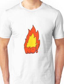 cartoon NO! shout Unisex T-Shirt