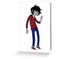 Marshall Lee the Vampire King, Watercolour. Greeting Card