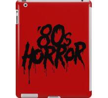 '80s Horror [Black] iPad Case/Skin