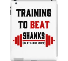 Training to beat Shanks One Piece iPad Case/Skin