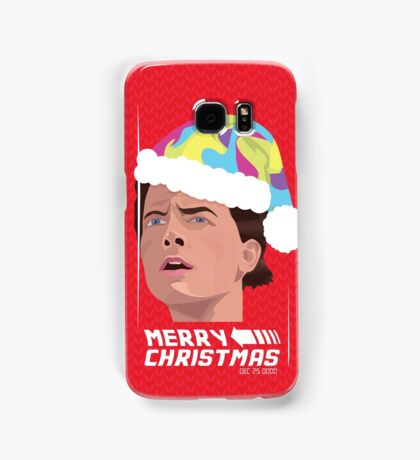 BACK TO THE FUTURE CHRISTMAS Samsung Galaxy Case/Skin