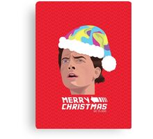 BACK TO THE FUTURE CHRISTMAS Canvas Print