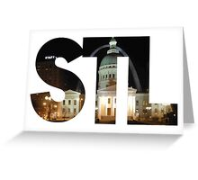 St. Louis STL Greeting Card
