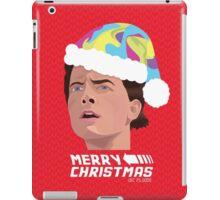 BACK TO THE FUTURE CHRISTMAS iPad Case/Skin