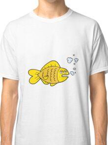 cartoon funny fish Classic T-Shirt