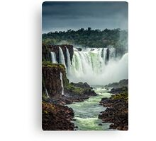 Iguaza Falls - No. 5 Canvas Print