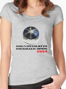 Kouvostoliitto Kickback Open 2014 Women's Fitted Scoop T-Shirt