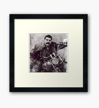 Cool Comrade Stalin Framed Print