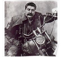 Cool Comrade Stalin Poster