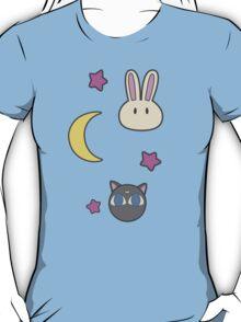Sailor Moon R inspired Chibusa Luna-P Bedspread Blanket Print SuperS Version T-Shirt