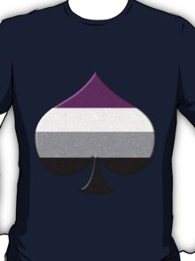 Asexual Pride Ace Symbol T-Shirt