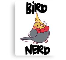 Bird Nerd Canvas Print