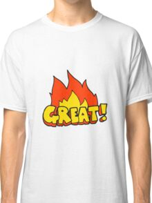 GREAT! cartoon symbol Classic T-Shirt