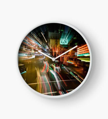 Warp Avenue Clock