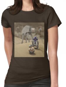 Sci-Fi Fantasy 4 Womens Fitted T-Shirt