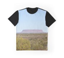 Flat mountain Graphic T-Shirt