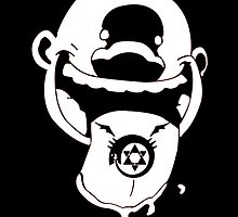 Homunculus the 2nd (black and white) by jmichproduction