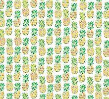 Pineapple Punch by Bronwyn Houston Art