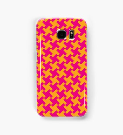 Retro Houndstooth Samsung Galaxy Case/Skin