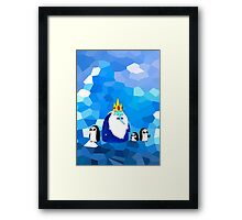Ice King & his brood. Framed Print