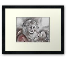 Mother and Baby 1 Framed Print