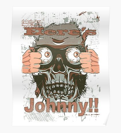 funny johnny Poster