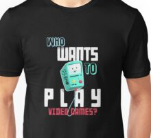 Adventure Time With Finn And Jake BMO Play Video Games? T-shirt Unisex T-Shirt