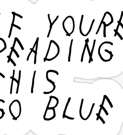 Drake U Michigan Sticker