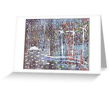 Beare Park Palms Greeting Card