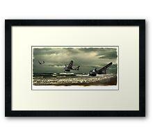 Westland Whirlwind fighter planes Framed Print