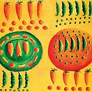 Carrots and Peas by Julie Nicholls