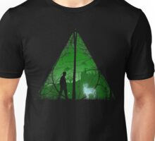 Deathly hallows shadow Unisex T-Shirt