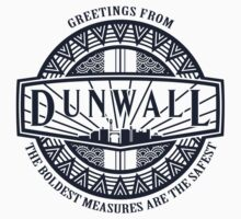 Greetings from Dunwall (sticker) by Olipop
