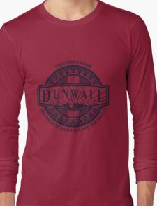 Greetings from Dunwall (sticker) Long Sleeve T-Shirt