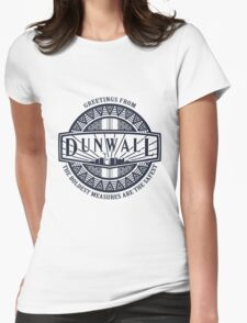 Greetings from Dunwall (sticker) Womens Fitted T-Shirt