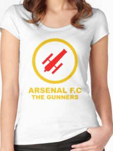 Asenal FC Women's Fitted Scoop T-Shirt