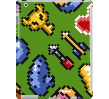 Legend of Zelda A Link to the Past / items / pattern / green hat iPad Case/Skin