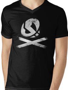 Team Skull Mens V-Neck T-Shirt