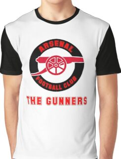 Asenal FC - The Gunners Graphic T-Shirt