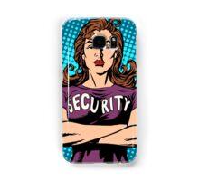 woman security guard Samsung Galaxy Case/Skin