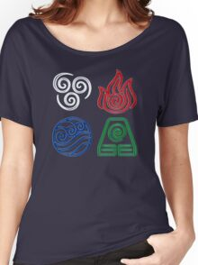 4 ELEMENTS Women's Relaxed Fit T-Shirt