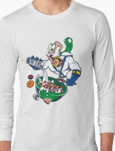 Groovy-Os Cereal (sticker) Long Sleeve T-Shirt