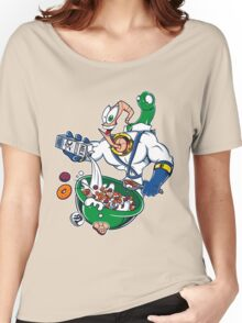 Groovy-Os Cereal (sticker) Women's Relaxed Fit T-Shirt