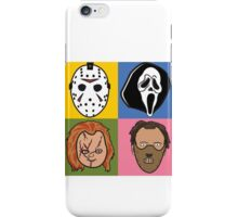 Greatest Hits of Horror iPhone Case/Skin