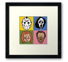 Greatest Hits of Horror Framed Print
