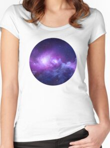 CIRCULAR SPACE Women's Fitted Scoop T-Shirt